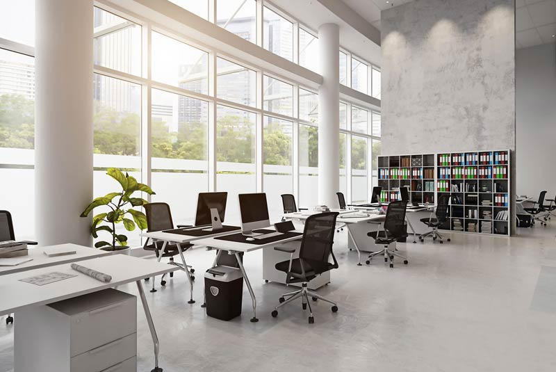 Finding the Best Triangle Area Office Space