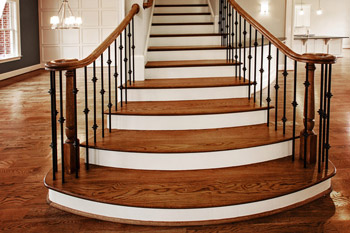 Staircase - Brookshire Manor